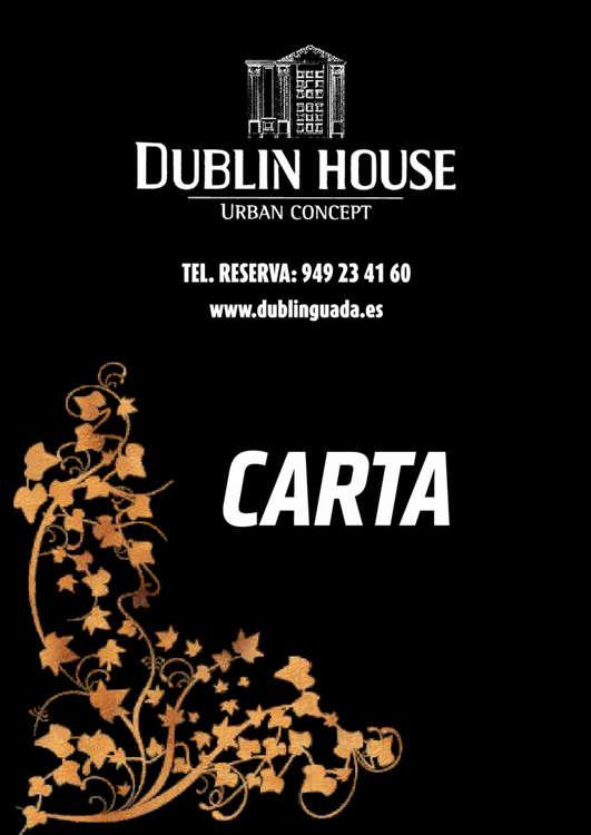 Ofertas de Dublin House, Carta