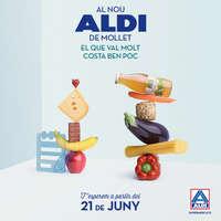 Al nou ALDI de Mollet, el que val molt costa molt poc