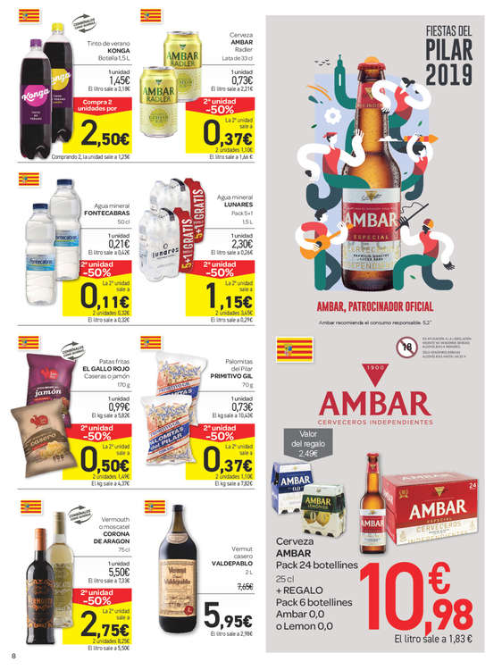 Ofertas de Carrefour, Ofertas Aragón