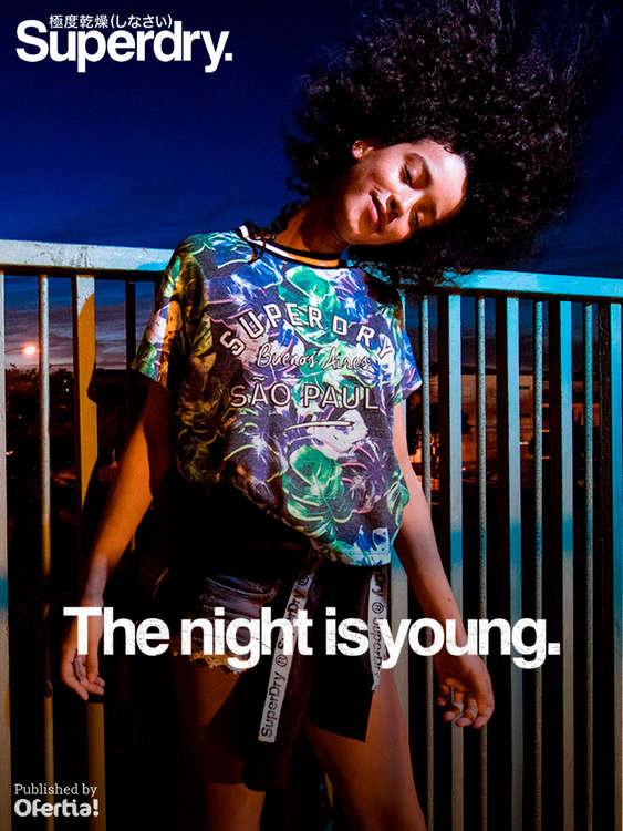 Ofertas de Superdry, The night is young