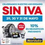 Ofertas de Norauto, Celebramos nuestro Aniversario SIN IVA