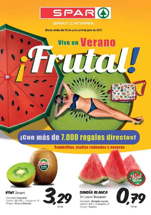 Ofertas de SPAR Gran Canaria, ¡Vive un verano frutal!