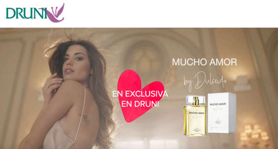 Ofertas de Druni, Mucho amor by Dulceida