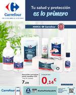 Ofertas de Carrefour, Tu salud y protección es lo primero