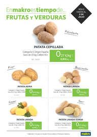 En Makro es tiempo de frutas y verduras