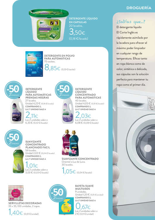 Comprar detergente ropa negra barato en ferrol ofertia for Muebles gundin arteixo catalogo