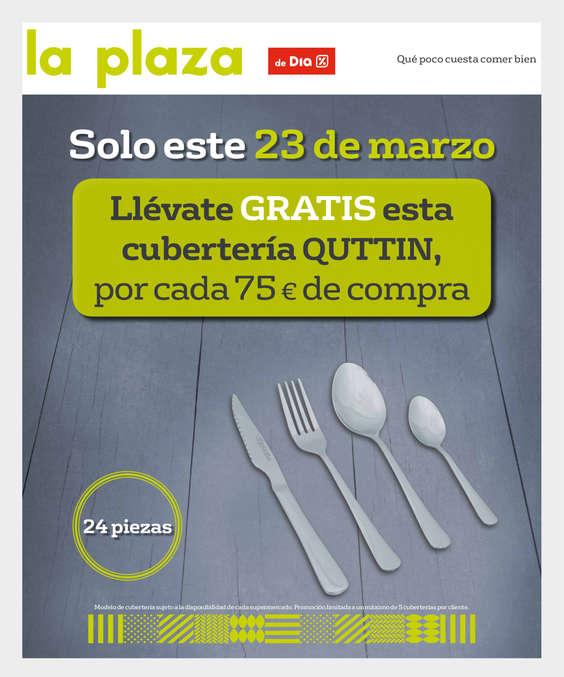 La plaza de dia alag n av zaragoza 22 ofertas y horarios for Cuberteria hipercor
