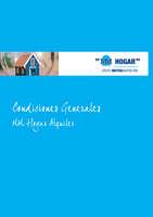 Ofertas de Mutua Madrileña, Condiciones generales. MM Hogar Alquiler