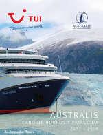 Ofertas de Linea Tours, Australis 2017-18
