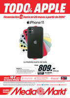 Ofertas de Media Markt, Todo Apple 0%