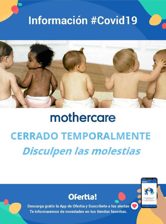 Ofertas de Mothercare, Información Mothercare #Covid19
