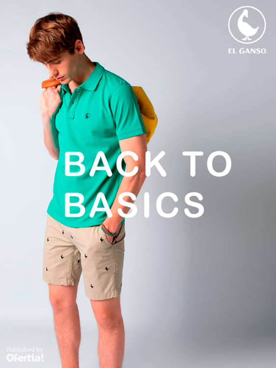 Ofertas de El Ganso, Back to Basics
