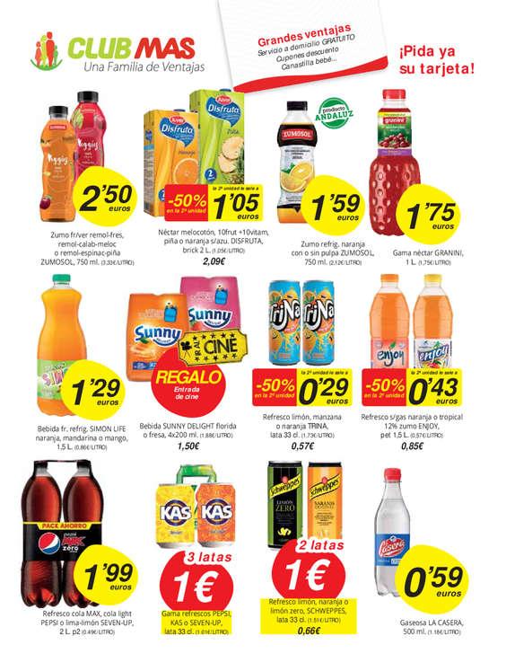 Ofertas de Supermercados MAS, Precios pequeño. Calidad MAS