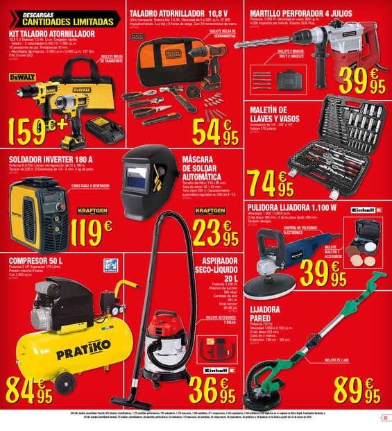 Bricodepot herramientas ofertas y cat logos destacados - Ofertas de bricodepot ...