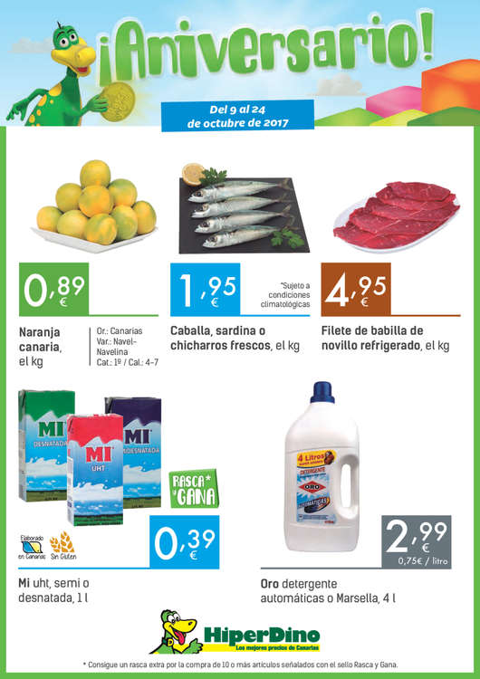 Hiperdino ofertas cat logo y folletos ofertia - Ofertia folleto carrefour ...
