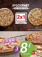 Ofertas de Telepizza, 2X1