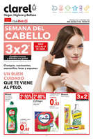 Ofertas de Clarel, Semana del cabello 3x2