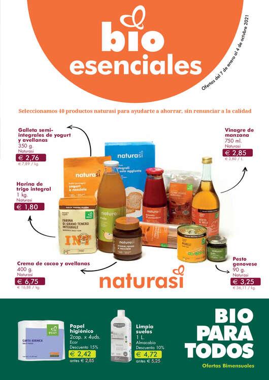 Ofertas de NaturaSí, Bio para todos