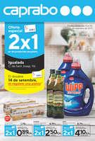 Ofertas de Caprabo, Oferta especial 2x1 en els productes senyalats