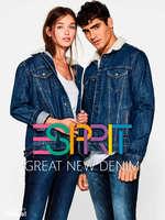 Ofertas de Esprit, Great New Denim