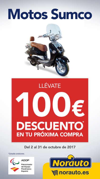 Ofertas de Norauto, Llévate 100€ de descuento en tu próxima compra