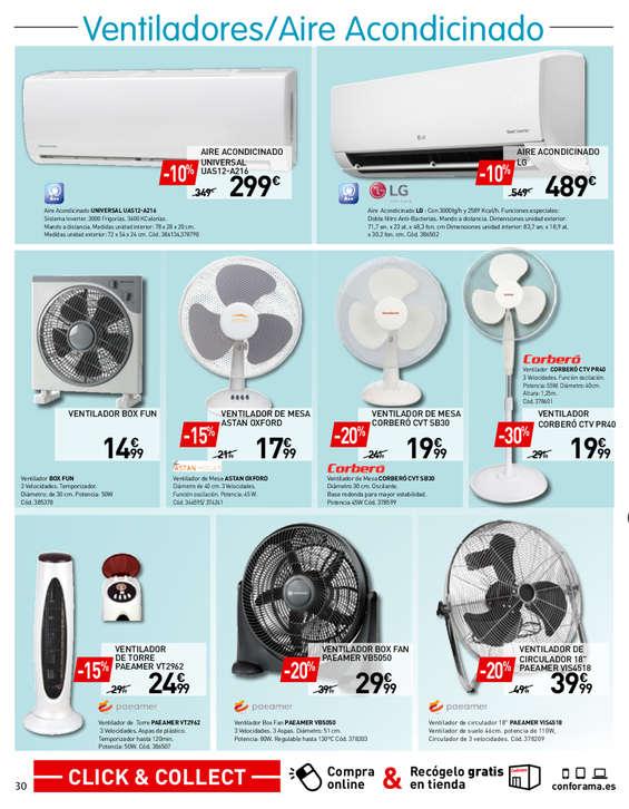 Comprar ventilador industrial barato en bormujos ofertia - Ventilador techo carrefour ...