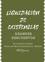 Ofertas de Pili Carrera, Liquidación de existencias