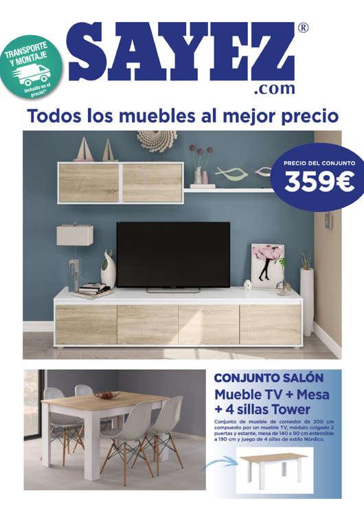 Ofertas de Sayez, Todos los muebles al mejor precio
