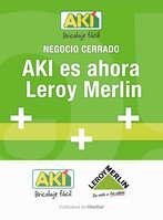 Ofertas de Aki, AKI es ahora Leroy Merlin