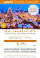 Ofertas de Kuoni, El Rhin y mercadillos navideños