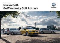 Nuevo Golf, Golf Variant y Golf Alltrack