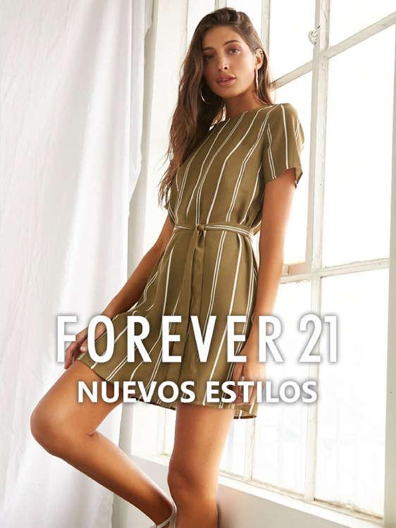 Ofertas de Forever 21, Nuevos estilos