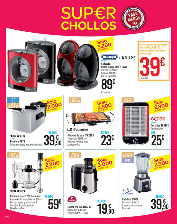 Ofertas de Carrefour, Super chollos