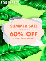 Ofertas de Forever 21, Summer Sale