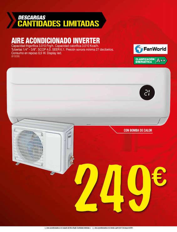 Bricodepot aire acondicionado ofertas y cat logos for Compresor de aire bricodepot