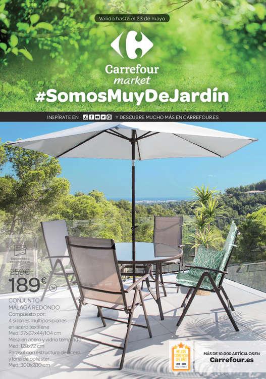 Ofertas de Carrefour Market, #SomosMuyDeJardín
