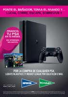 Ofertas de El Corte Inglés, Financia tu PS4 en 15 meses sin intereses