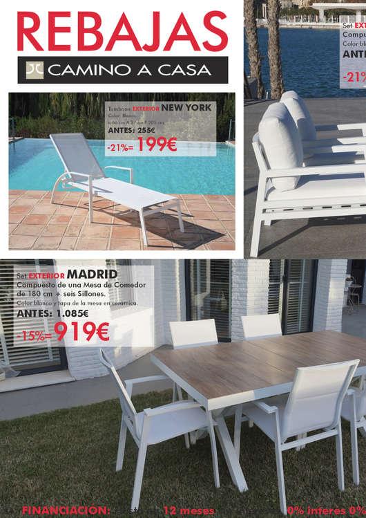 Comprar Conjunto mesa y sillas comedor barato en Madrid - Ofertia