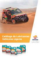 Ofertas de Repsol, Lubricantes vehículos ligeros