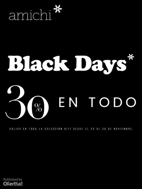 Ofertas de Amichi, Black Days! -30% en todo