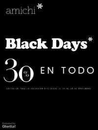 Black Days! -30% en todo