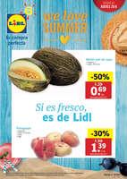 Ofertas de Lidl, We love summer
