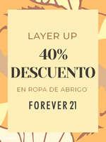 Ofertas de Forever 21, 40% dto. en ropa de abrigo