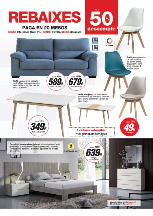 Comprar Muebles de comedor barato en Girona - Ofertia