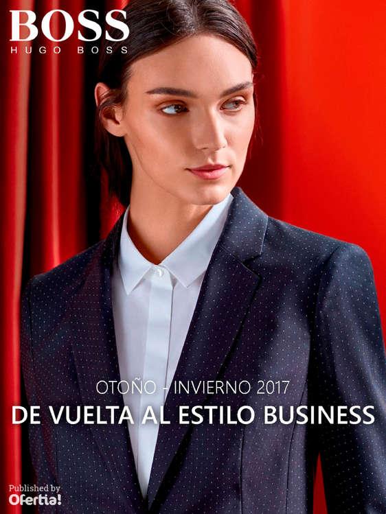 Ofertas de Hugo Boss, De vuelta al estilo business