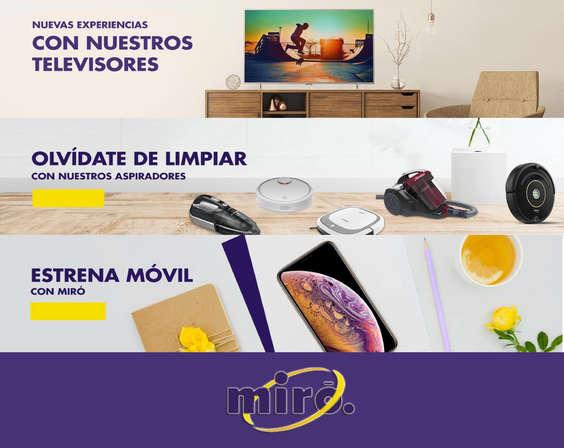 Ofertas de Miró, Nuevas experiencias