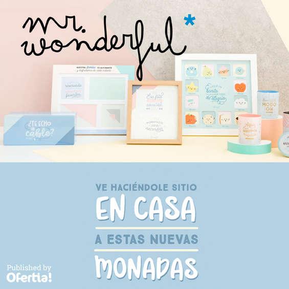 Ofertas de Mr Wonderful, Ve haciéndole sitio en casa a estas nuevas monadas