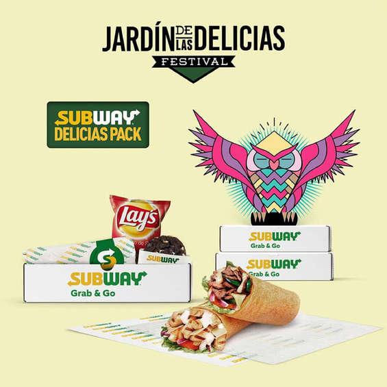 Ofertas de Subway, Jardín de las delicias