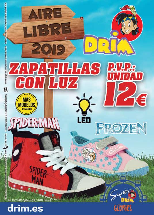 Ofertas de DRIM, Aire Libre 2019
