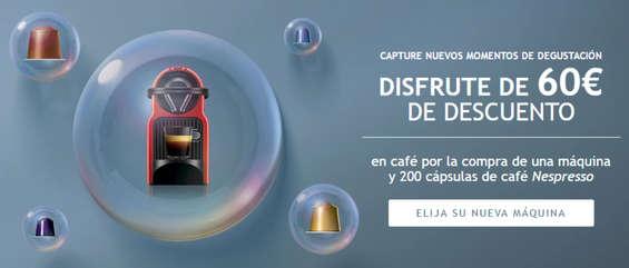 Ofertas de Nespresso, Disfrute de 60 € de descuento
